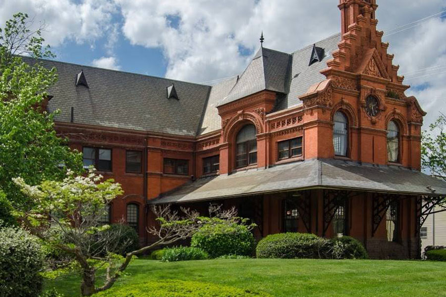 About Our Agency - View Of Stricker Insurance Historical Office Building