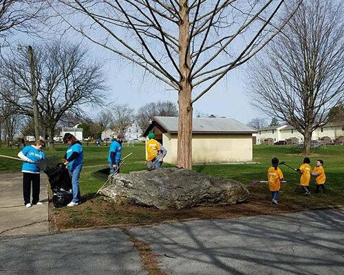 Community - Strickler Insurance Doing Community Cleanup